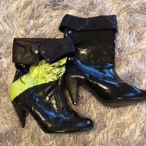NWOB Iron Fist One Hand in the Grave Zombie Boots
